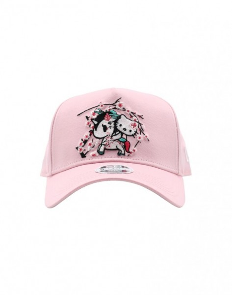 Details about Tokidoki x Hello Kitty Sakura Kitty Womens Snapback Pink Cap  Hat-5448 b2f9fff79b2b